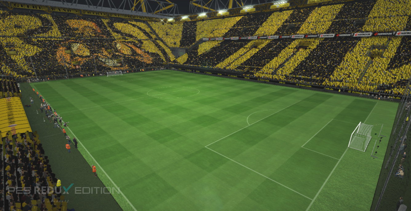 pes2017 new stadium signal iduna park by s elafify gilapesku. Black Bedroom Furniture Sets. Home Design Ideas