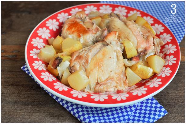 receita frango cozido pera