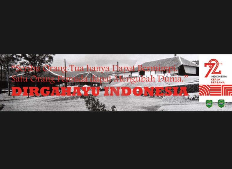 Awas Salah Benar Membuat Spanduk Hut 72 Banner Photoshop