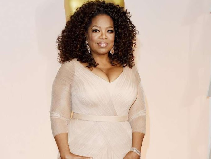 Oprah reveals how she spent her first $1M cheque