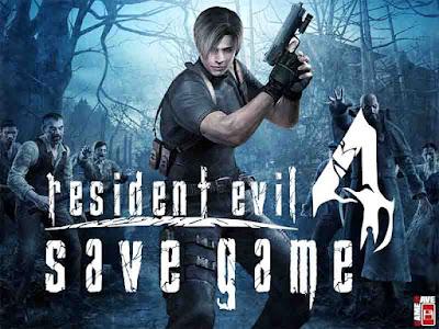 resident evil 4 save game