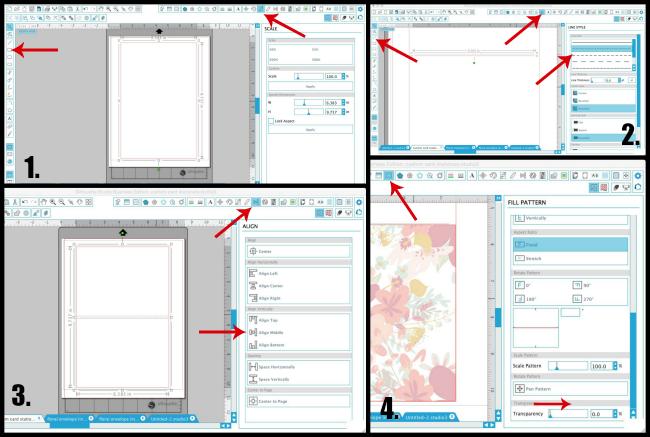 designing card shape silhouette studio cameo tutorials