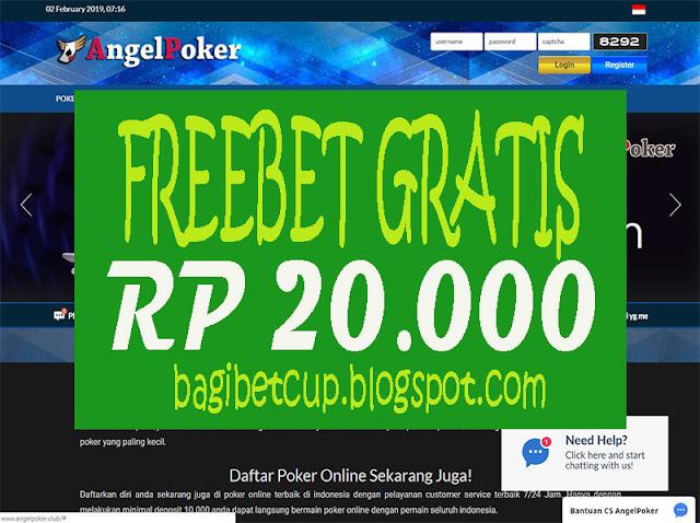 PokerClub88 Freebet Poker 20000 AngelPoker - Freebet
