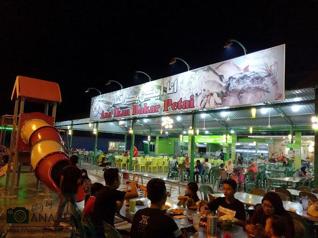 Tempat Makan Popular di Kuantan : Ana Ikan Bakar Petai Tanjung Lumpur