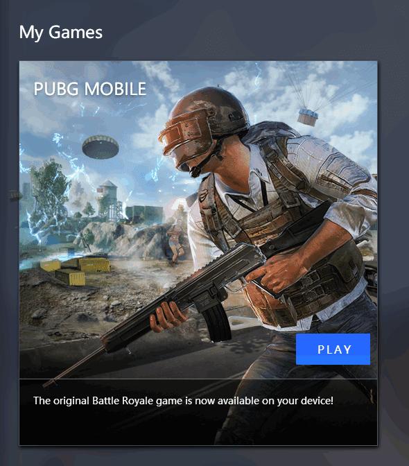 يتيح لك Tencent Gaming Buddy لعب Pubg Mobile على جهاز