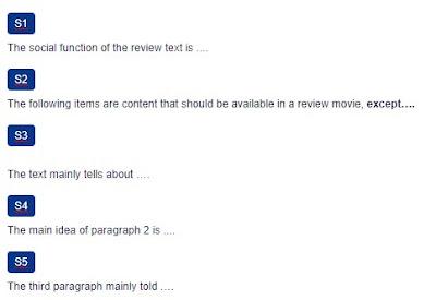Contoh Soal Writing Movie Reviews