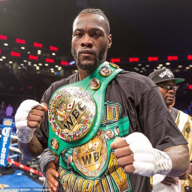 e766807f Deontay Wilder: Spirit and Personality of a Champion