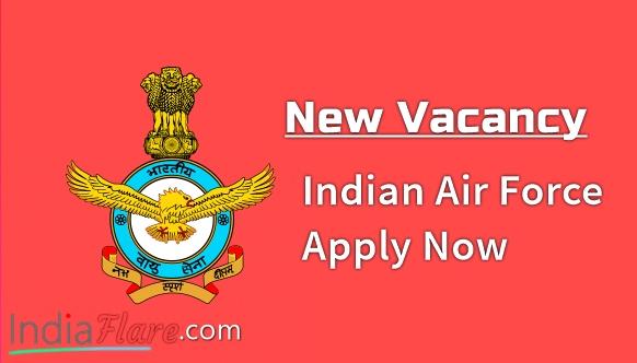 Indian Air Force में भर्ती जारी के लिए, ऑनलाइन आवेदन प्रक्रिया जाने
