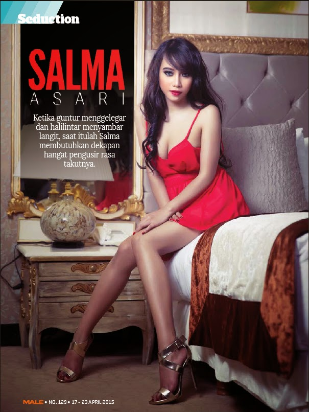 Salma Asari on male Mgazone April 2015