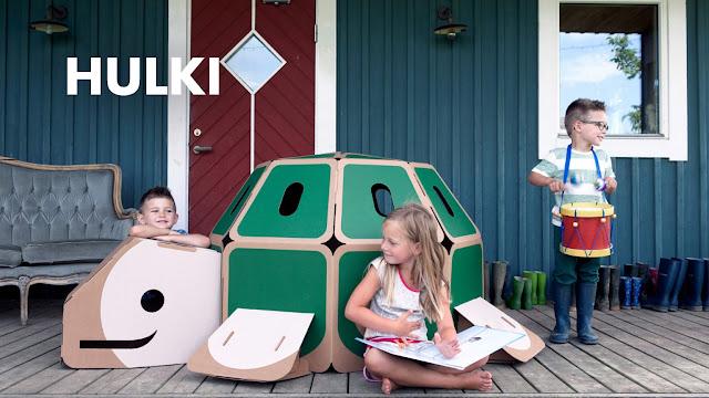 Juguete de cartón de HULKI
