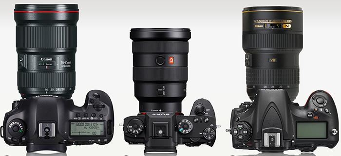 Сравнение Canon 16-35/2.8, Sony 16-35/2.8, Nikon 16-35/4