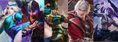 Hero Cocok Dipakai Solo Ranked Mobile Legends