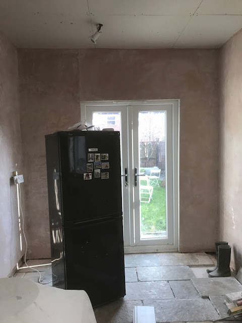 kitchen renovation plaster