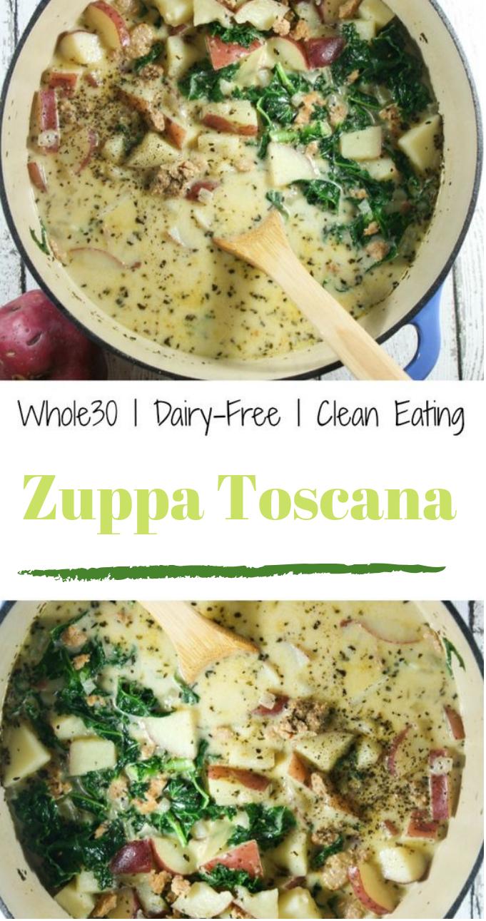 DAIRY-FREE & WHOLE30 ZUPPA TOSCANA #diet #zuppa #toscana