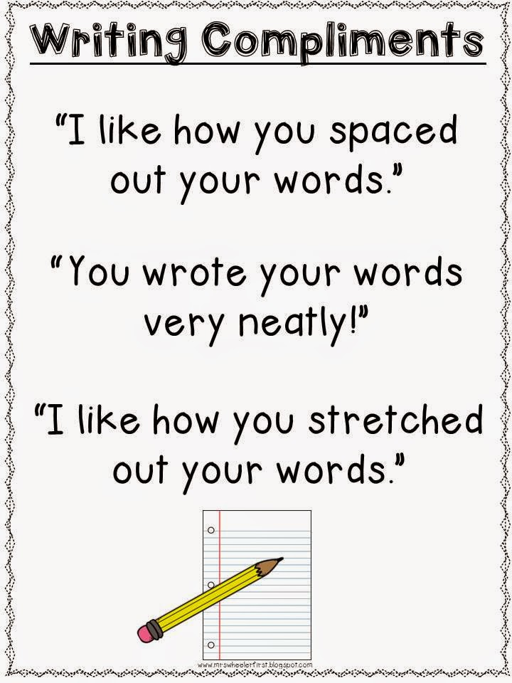 Mrs. Wheeler's First Grade Tidbits: Kicking Off Writing