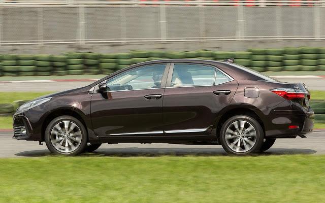 Toyota Corolla aparece é top 5 no começo de junho - vendas
