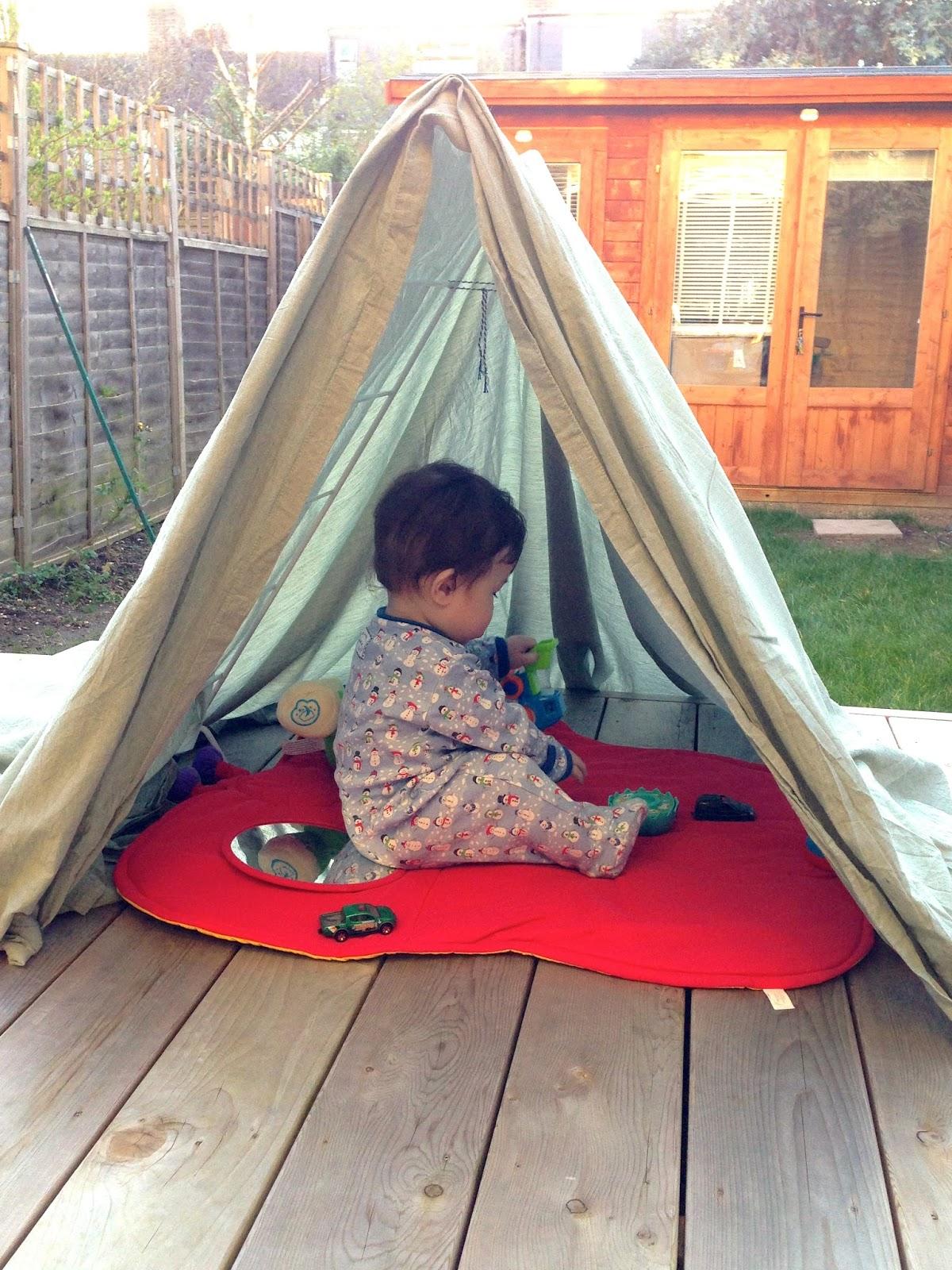 2 Littlefaces Diy Clothes Horse Play Tent