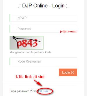 Lupa Password Pajak Online, Begini Cara Menggantinya