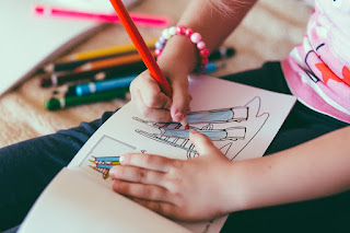 Image: Child coloring book, by StockSnap on Pixabay