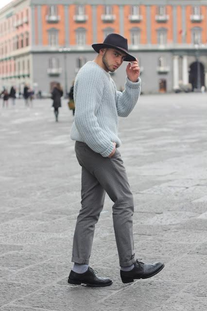 come abbinare un maglione di lana outfit uomo