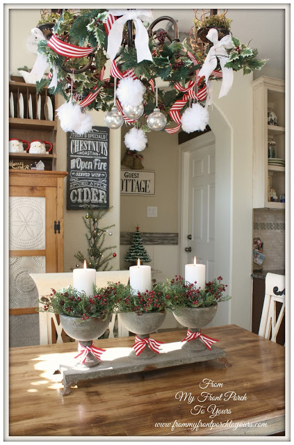 Christmas Kitchen-Inspiration-Vintage Inspired-From My Front Porch To Yours