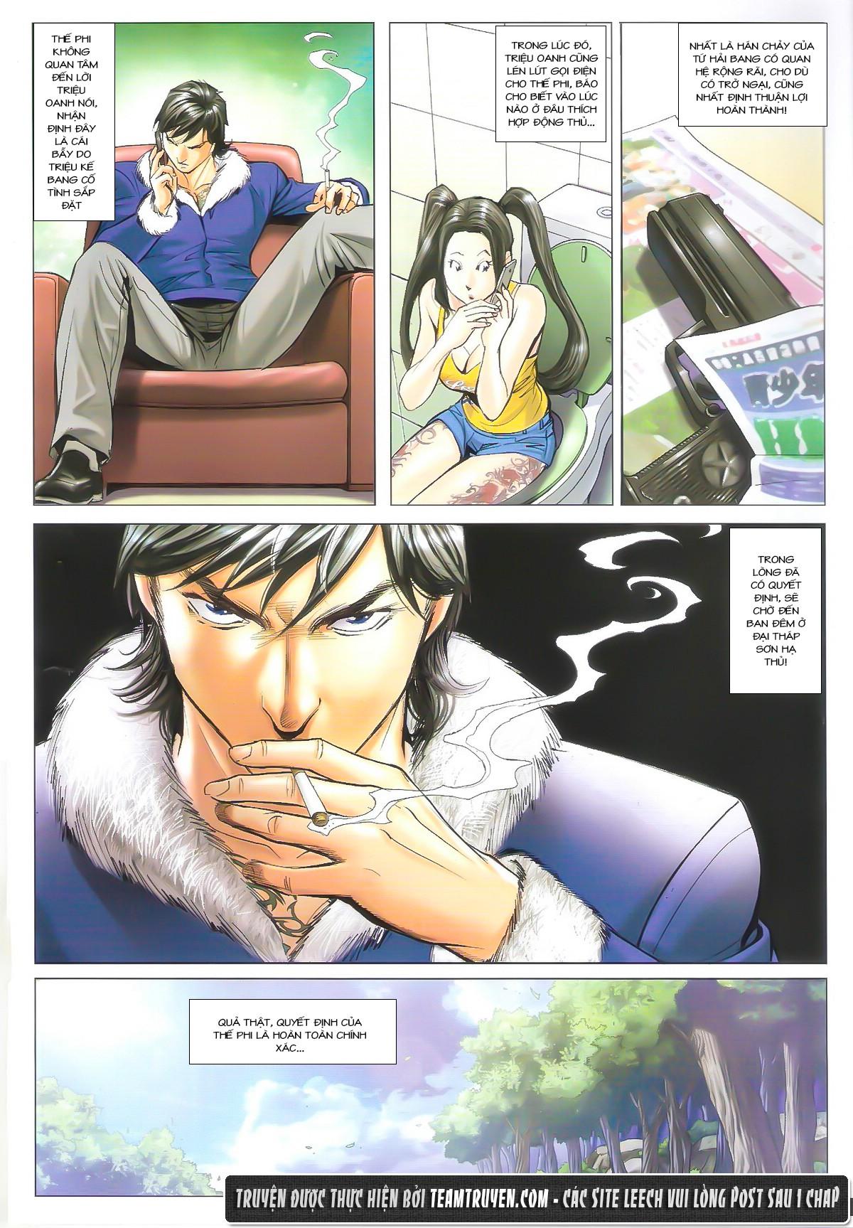 Người Trong Giang Hồ chapter 1612: thần nhân tương ngộ trang 17