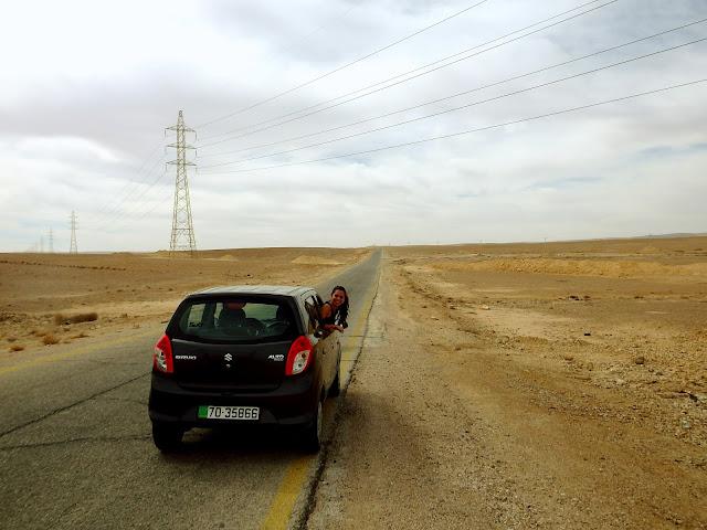 alquilar coche jordania