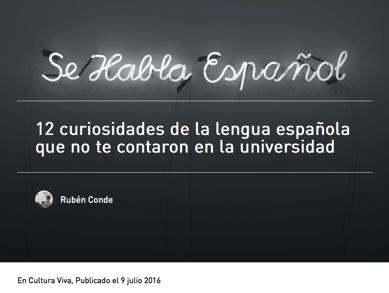 curiosidades español