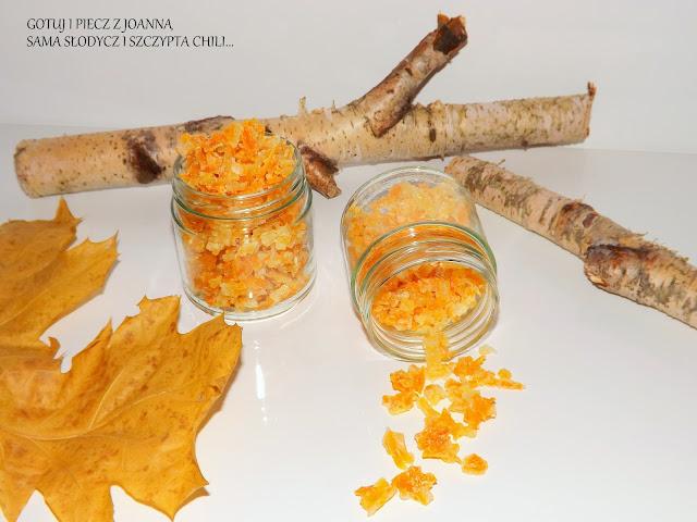 Kandyzowana skórka pomarańczowo - cytrynowa