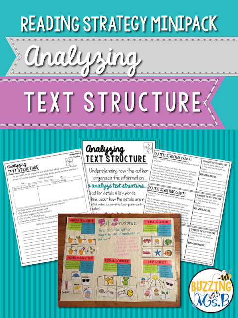 https://www.teacherspayteachers.com/Product/Analyzing-Text-Structure-Strategy-MiniPack-2282692