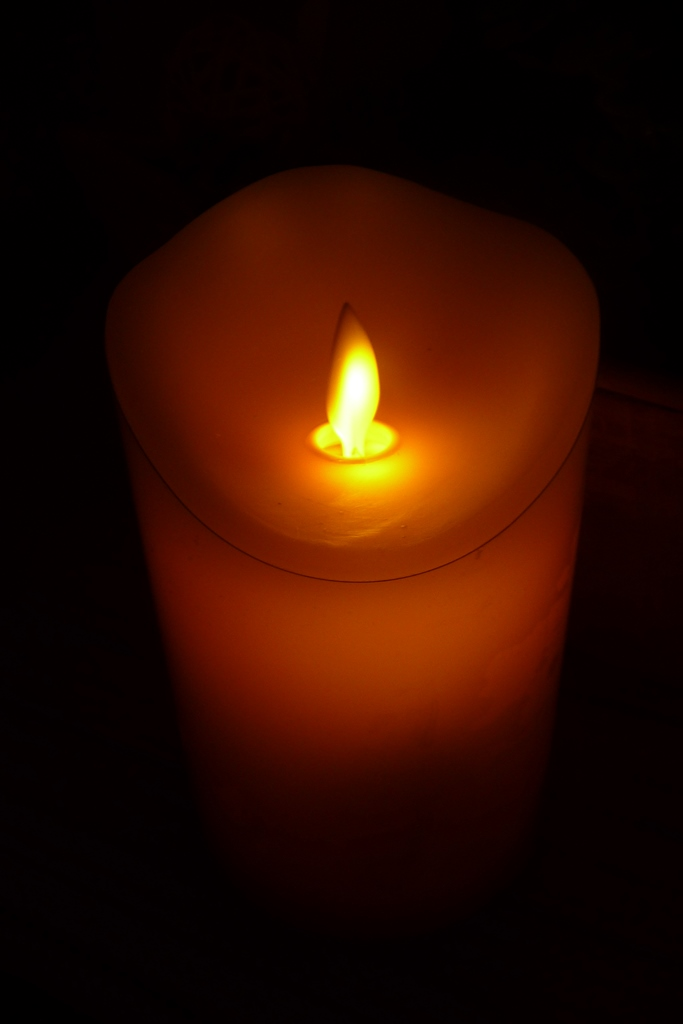 Mein Testblog: Nicki testet die Air Zuker LED Kerze mit