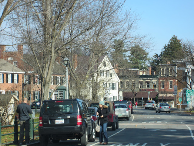 Woodstock, VT - A charming New England town