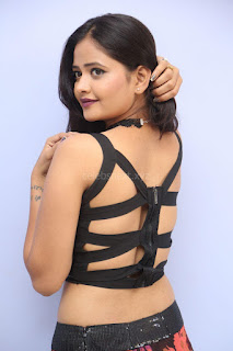 Shriya Vyas in a Tight Backless Sleeveless Crop top and Skirt 152.JPG