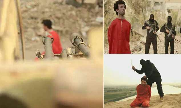 ISIS prisoner is blasted to pieces with an ARTILLERY GUN - MkMail ng