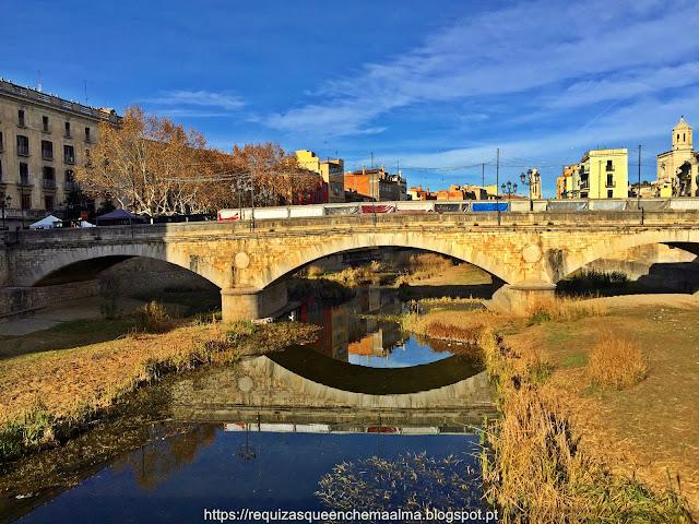 Girona, ponte do rio Onyar