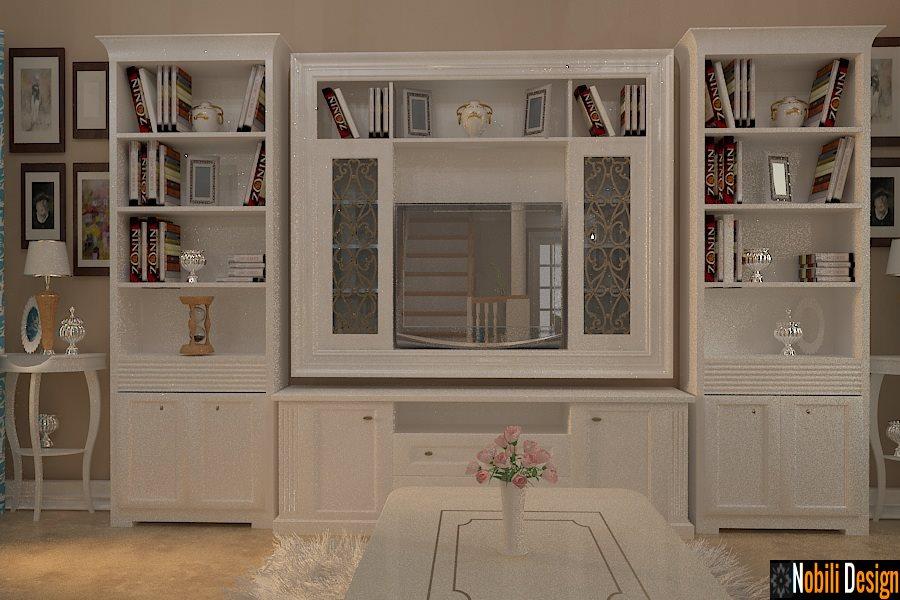 Design interior mobila living clasic Tulcea - Design interior dormitor casa clasica | MOBILA LIVING CLASIC LA COMANDA TULCEA, MOBILIER LIVING DIN LEMN TULCEA,