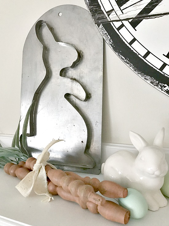 Bunny mold and Spindle Carrots