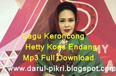 Lagu Keroncong Hetty Koes Endang Mp3 Full Download