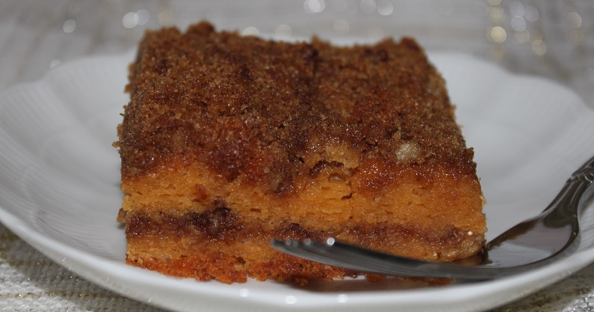 Coffee Cake With Butterscotch Pudding Mix