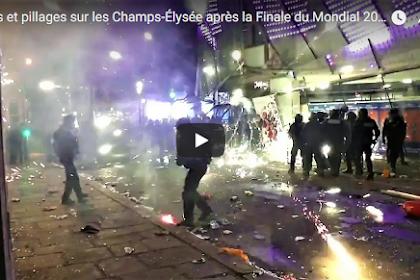 Mengejutkan! Phobia Islam dan Rasisme: Rusuh Prancis Usai Menang Piala Dunia