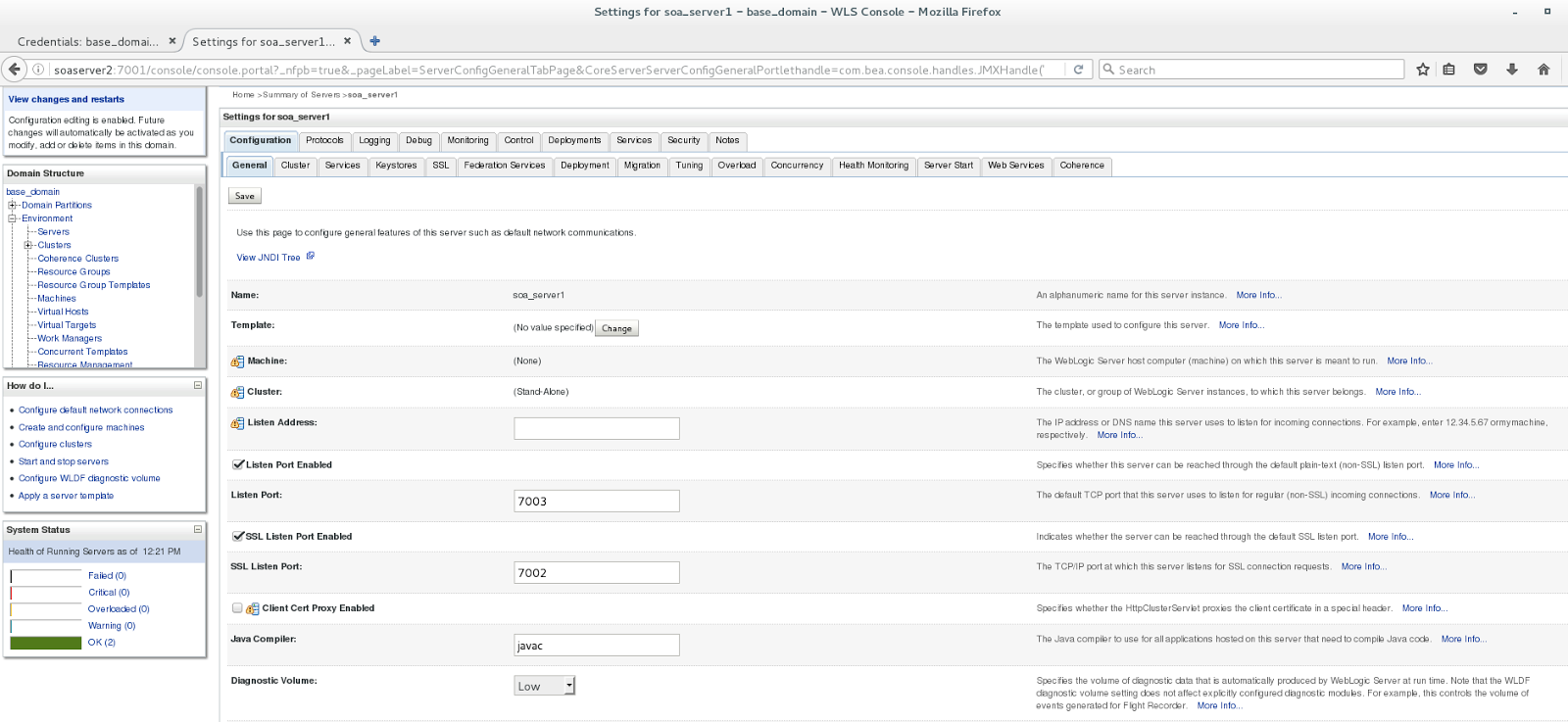 Oracle SOA / Java blog: Oracle SOA Suite: Two-way SSL with