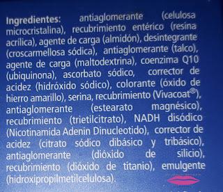 ingredientes Reconnect Vitae