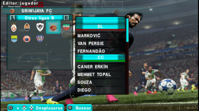 PES 2016 ISO Patch Army Terbaru For PSP Android Komentator Bahasa Spanyol