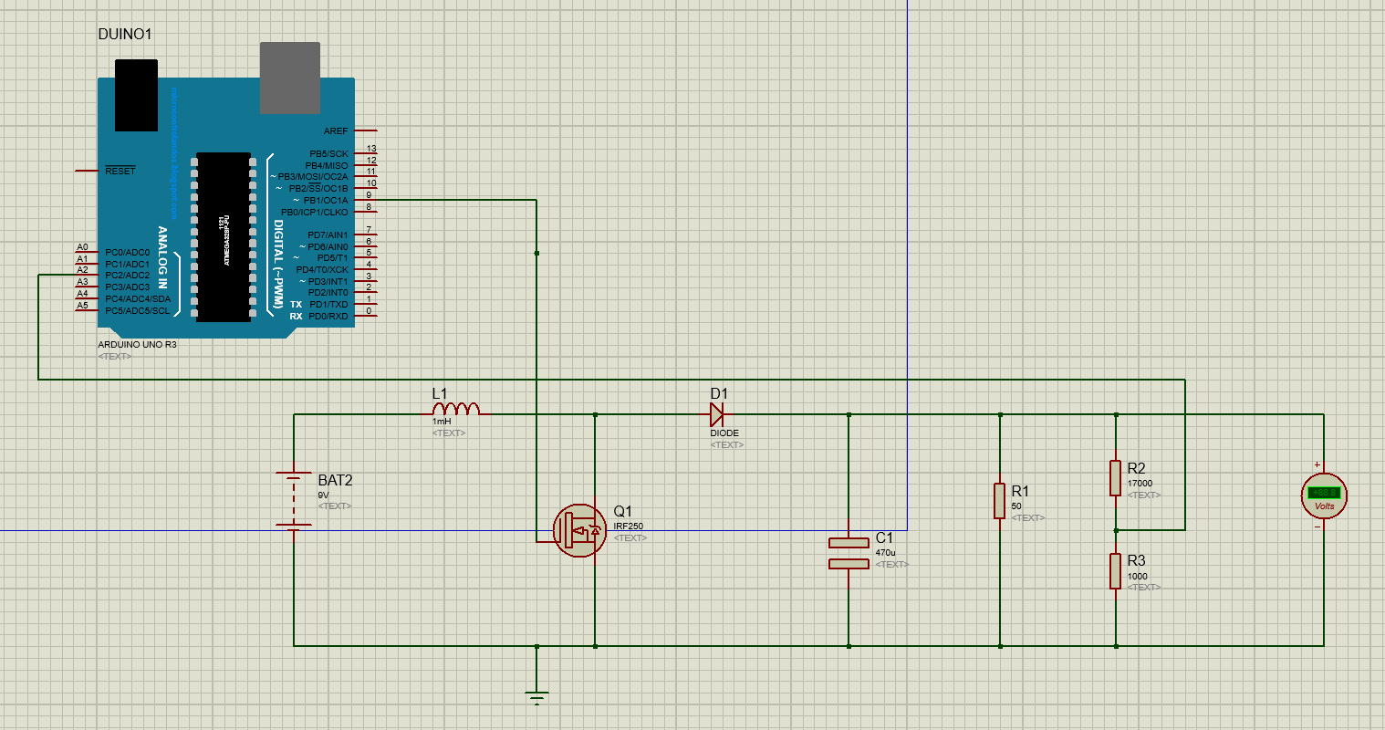 EMERGING TECHNOLOGIES: BOOST CONVERTER USING ARDUINO - SIMULATION IN