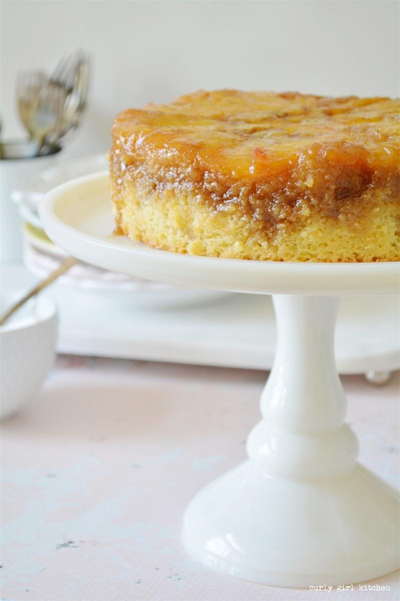 Peach Cake, Peach Upside Down Cake, Cake, Rhubarb Cake, Summer Desserts