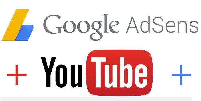 Youtube Adsense Logo