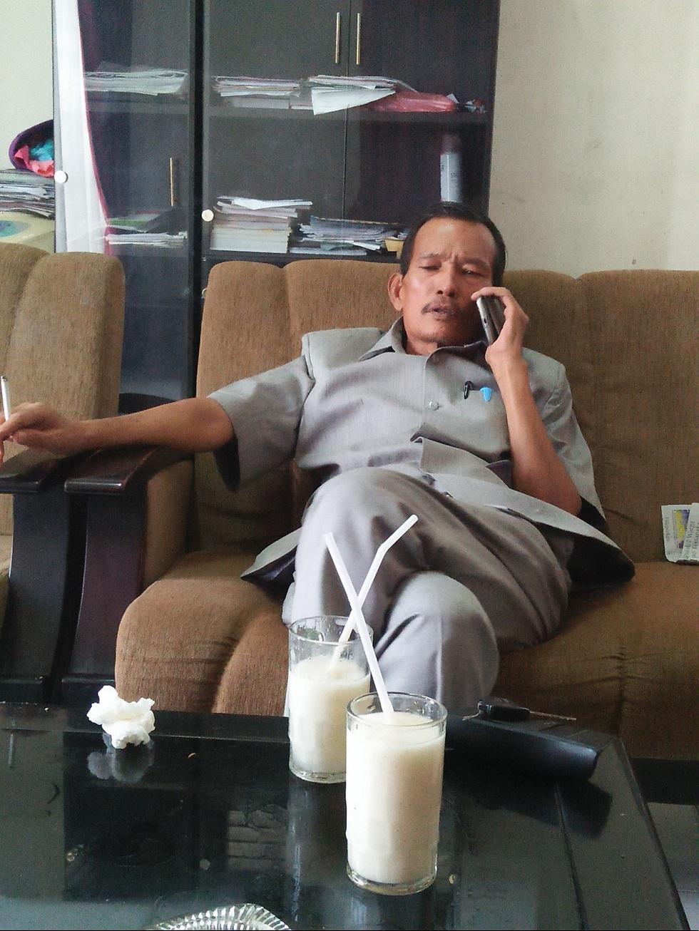 Wakil Ketua DPRD Kota Tanjungbalai Leiden Butar Butar