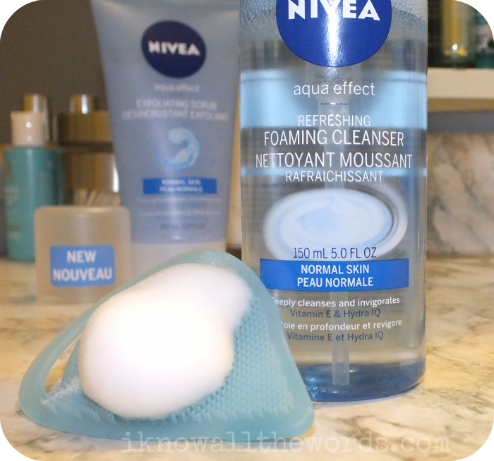 Nivea Aqua Effect Refreshing Foaming Cleanser