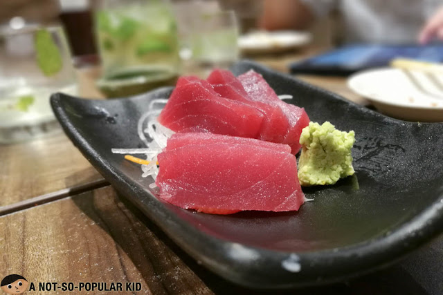 Tuna Sashimi of Watami