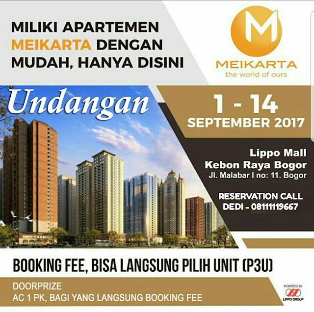 Promo Meikarta Di Lippo Mall Bogor